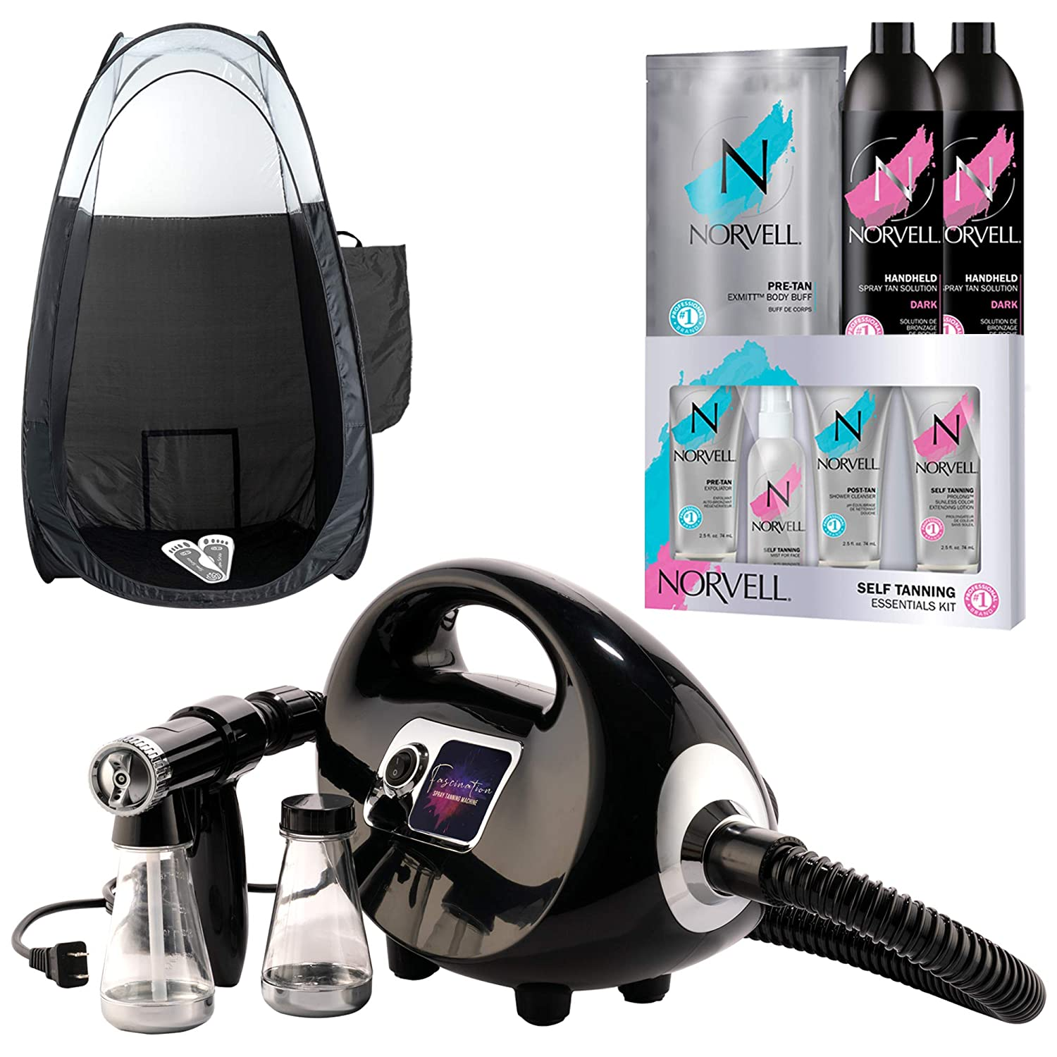 Black Fascination Best Airbrush Tanning Machine