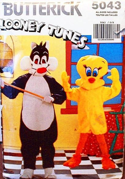 OOP Butterick Looney Tunes Costume Pattern 5053. Kids Szs 4/56/ & Amazon.com: OOP Butterick Looney Tunes Costume Pattern 5053. Kids ...