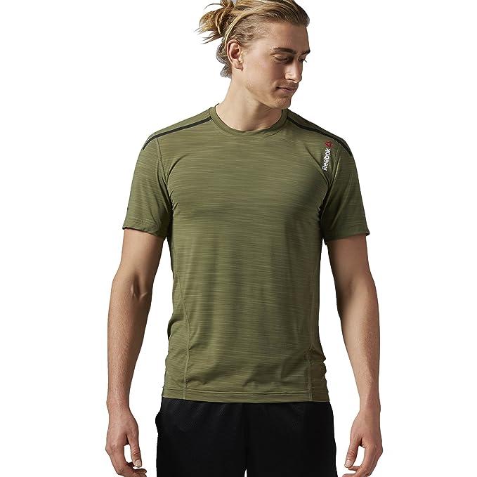 716eaa2a48 Reebok Men's One Series Activchill Bonded Short Sleeve Top