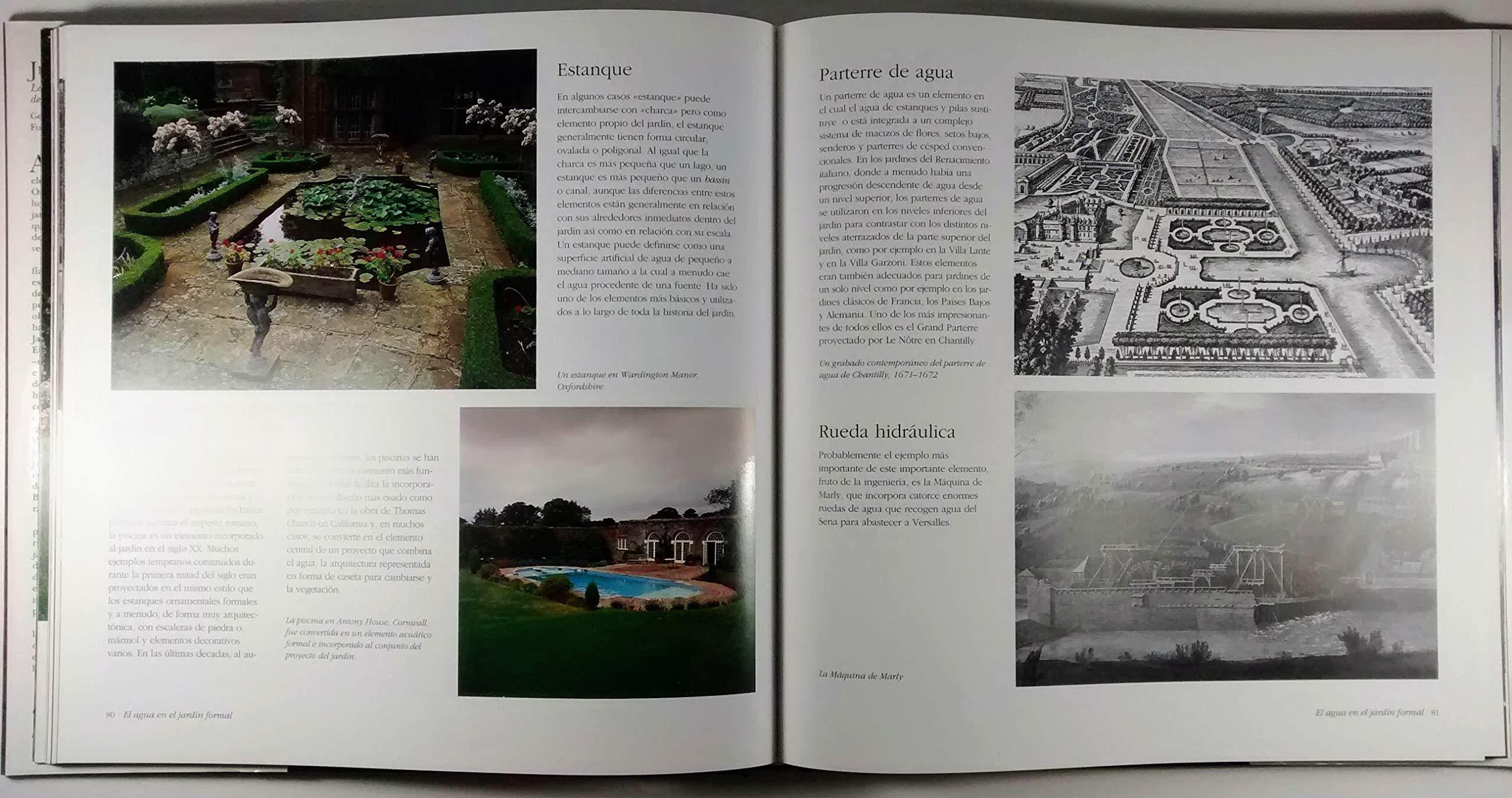 Juegos de agua : la presencia del agua en el jardin desde: Amazon.es: George Plumptre: Libros