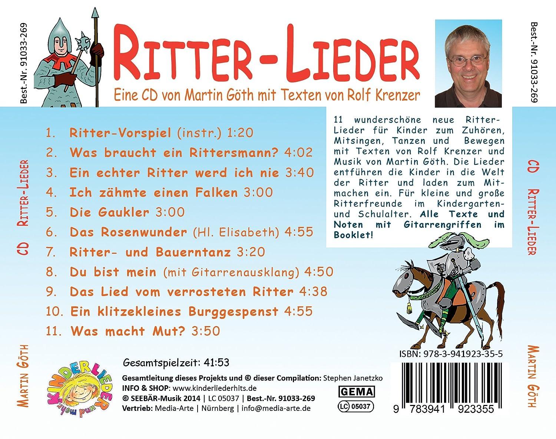 Ritter Lieder Für Kinder Zum Zuhören Mitsingen Tanzen Und Bewegen