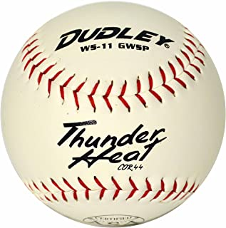 Dudley ASA Certifié Thunder Chaleur Slow Pitch Softball One Douzaine DE 27,9 cm 9 cm
