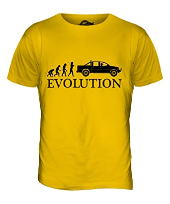 CandyMix Pick Up Evolution Des Menschen Herren T Shirt, Größe X-Small, Farbe