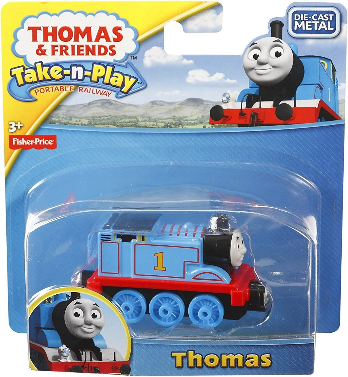NEW THOMAS /& FRIENDS COLLECTABLE TAKE AND PLAY RAILWAY TRAINS ENGINES DIE CAST