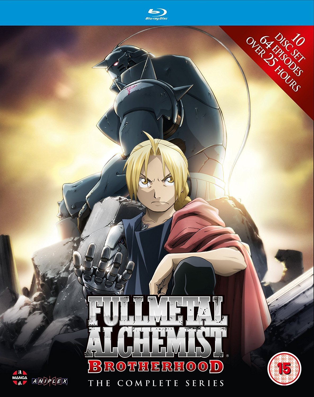 Fullmetal Alchemist Brotherhood - Complete Series Box Set Episodes 1-64 Reino Unido Blu-ray: Amazon.es: Rie Kugimiya, Romi Park, Yasuhiro Irie, Rie Kugimiya, Romi Park: Cine y Series TV