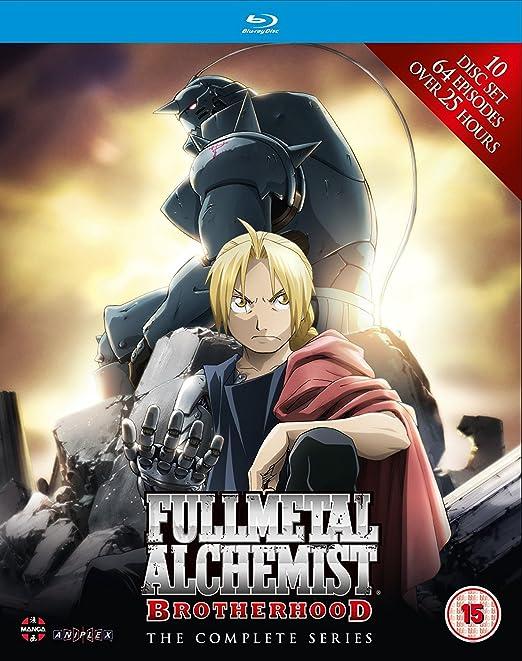 Amazon.com: Fullmetal Alchemist Brotherhood-Complete Series Blu-ray: Movies & TV