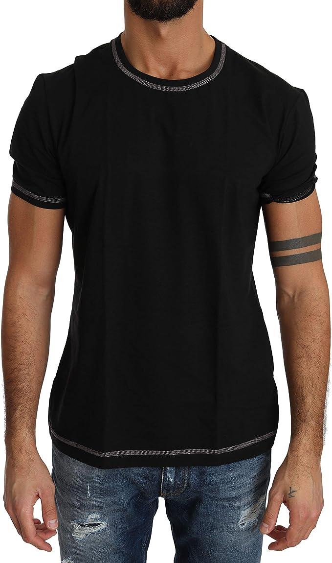 Dolce & Gabbana N8B85J - Camiseta para hombre, color negro: Amazon.es: Ropa y accesorios