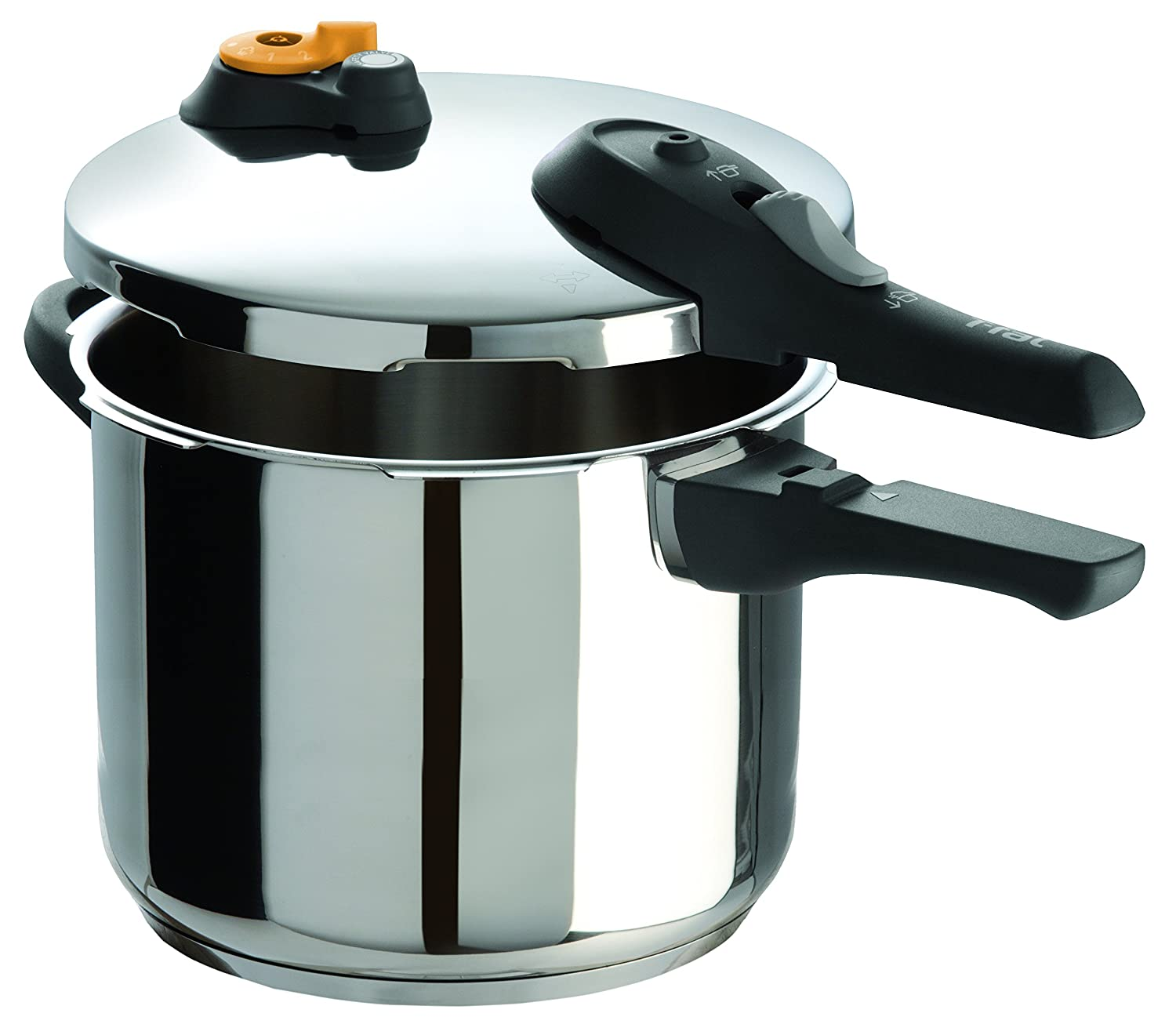 T-fal Stainless Steel 15-PSI Pressure Cooker, 4-Quart - Model #P25142