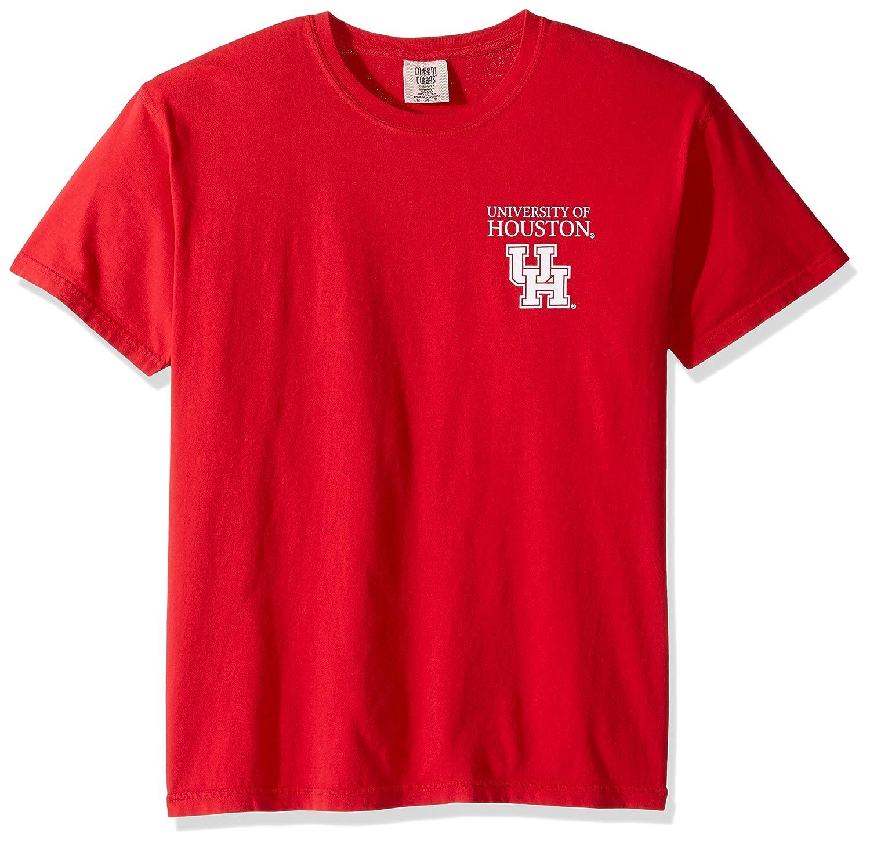 魅了 NCAA B01MU18S1Y Houston Cougars単純な円快適カラー半袖Tシャツ Houston、赤、レッド NCAA B01MU18S1Y, 瀬戸内町:ed621351 --- a0267596.xsph.ru