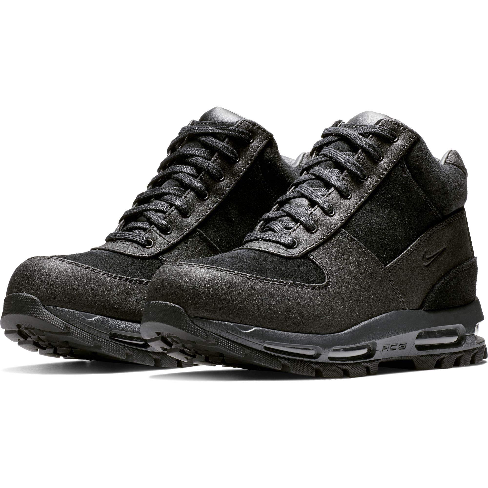 296faba6eb Galleon - Nike Men's Air Max Goadome Boot, Black/Black/Anthracite, 9