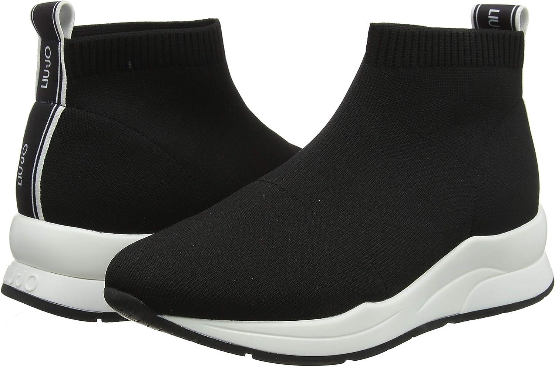 Capataz Entrelazamiento Primitivo  Liu Jo Karlie 16-Elastick Sock Black, Zapatillas para Mujer: Amazon.es:  Zapatos y complementos