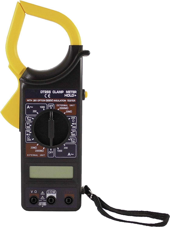 Digitale Strommesszange DM6266 Multimeter mit AC//DC Spannung Ampere Tester