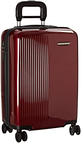 Briggs & Riley Sympatico International Carry-On Spinner, Burgundy, 21 Inch