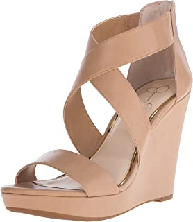 cbd5c9b82f4 Amazon.com  Jessica Simpson Women s Salona Wedge Sandal  Shoes