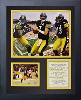 Legends Never Die Pittsburgh Steelers 2000's Big 3 Framed Photo Collage, 11x14-Inch