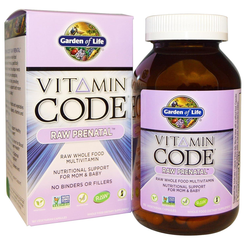 Garden Of Life Vitamin Code   Raw Prenatal 180 Vcaps