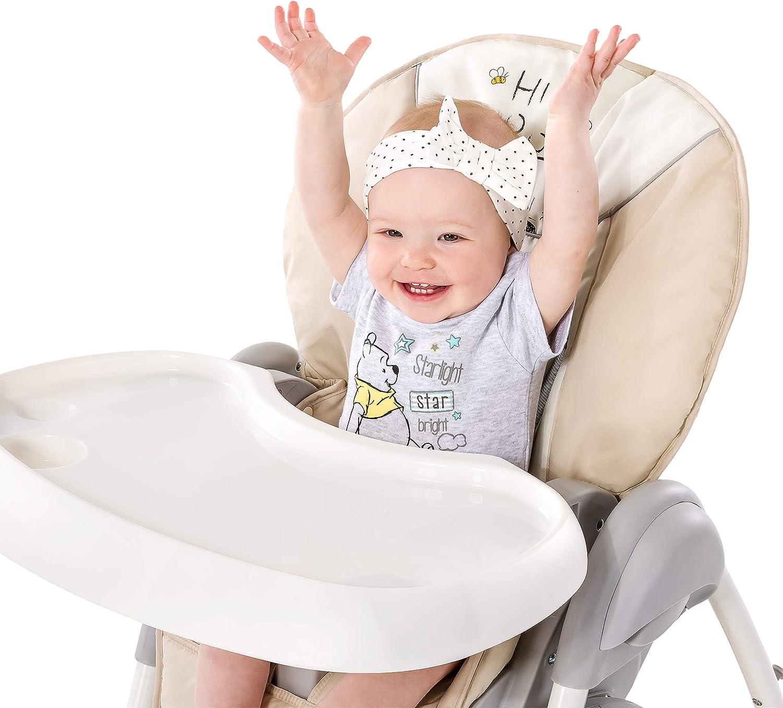 respaldo reclinable plegable rosa ruedas regulable en altura con arco m/óvile chasis ligero Hauck Sit N Relax Hamaquita balancin y trona para reci/én nacidos mesa