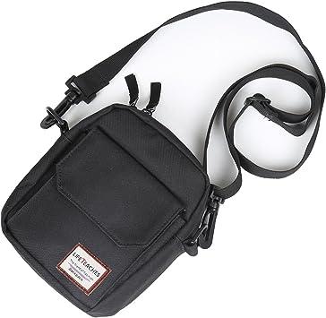 Men Women Pack Single Side Shoulder Bag Durable Messenger Crossbody Chest Bag