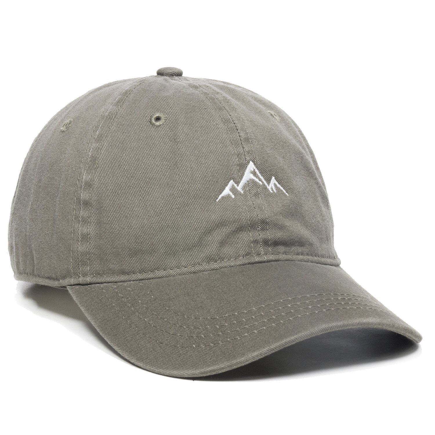 Outdoor Cap Mountain Dad Hat - Unstructured Soft Cotton Cap Black One Size Outdoor Cap -- Dropship AMZ4067459