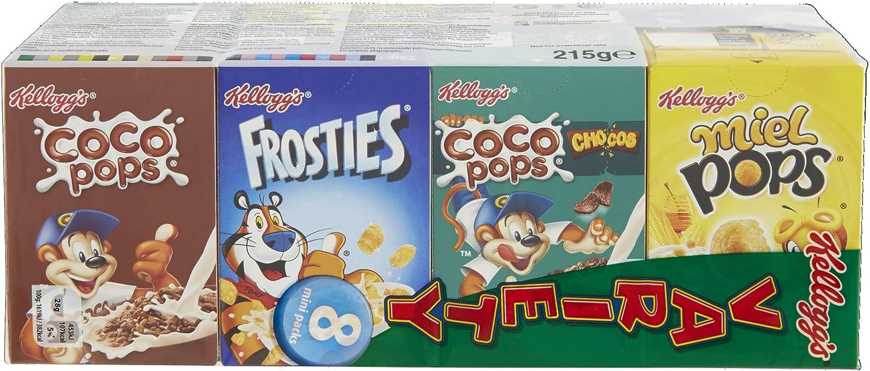 KELLOGGS cereales infantiles variety pack 8 cajas 25 gr: Amazon.es: Alimentación y bebidas