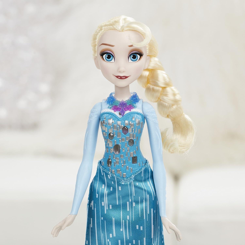 Disney Frozen Crystal Glow Elsa Hasbro B6163000