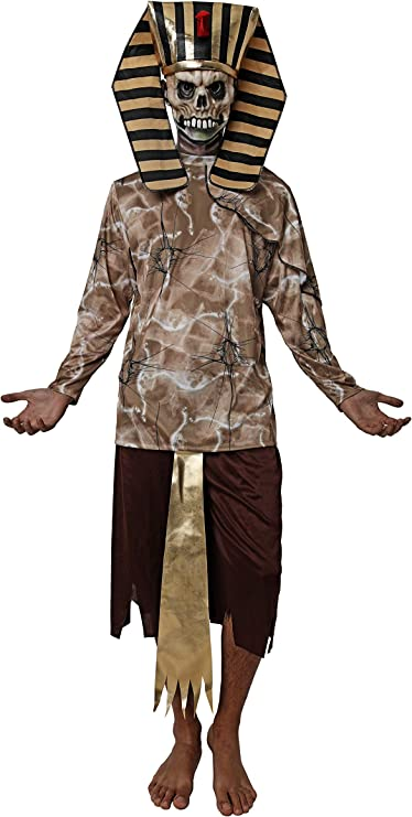 Costumizate! Disfraz de Faraon Zombie para Halloween Hombre Adulto ...