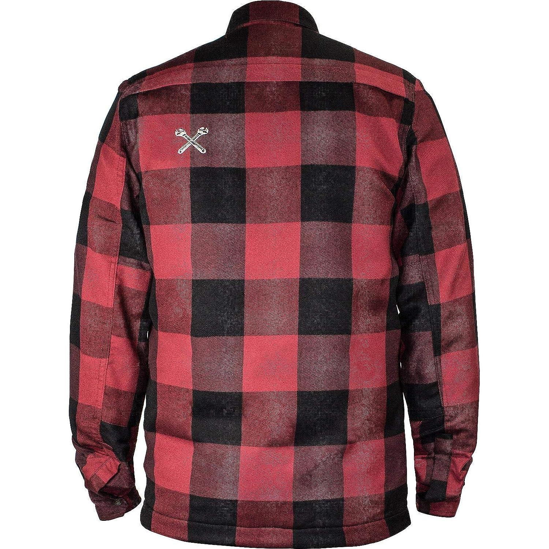 John Doe Hemd Lumberjack Kevlar Shirt Red
