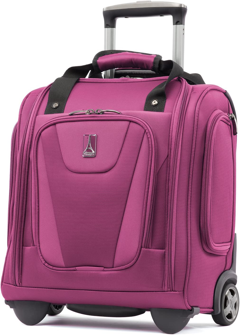 Travelpro Maxlite 4-Rolling Underseat Carry-On Tote Bag, Magenta, One Size