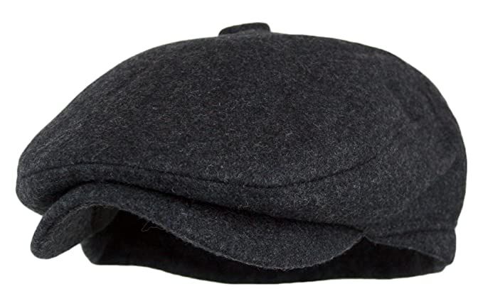 Mens 1920s Style Hats and Caps Mens 5 Panel Vintage Style Wool Blend Gatsby Ivy Newsboy Hat $13.99 AT vintagedancer.com