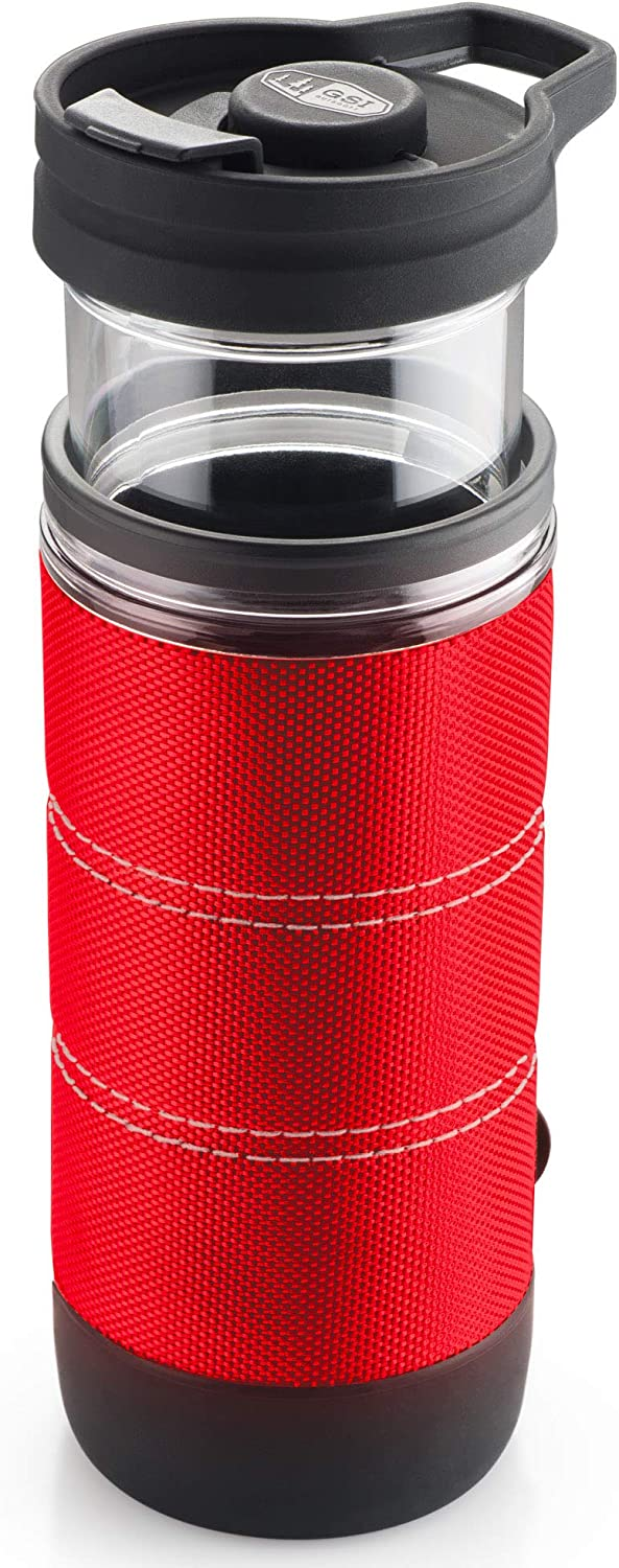 GSI Outdoors, Commuter JavaPress, French Press Coffee Mug, Superior Backcountry Cookware Since 1985