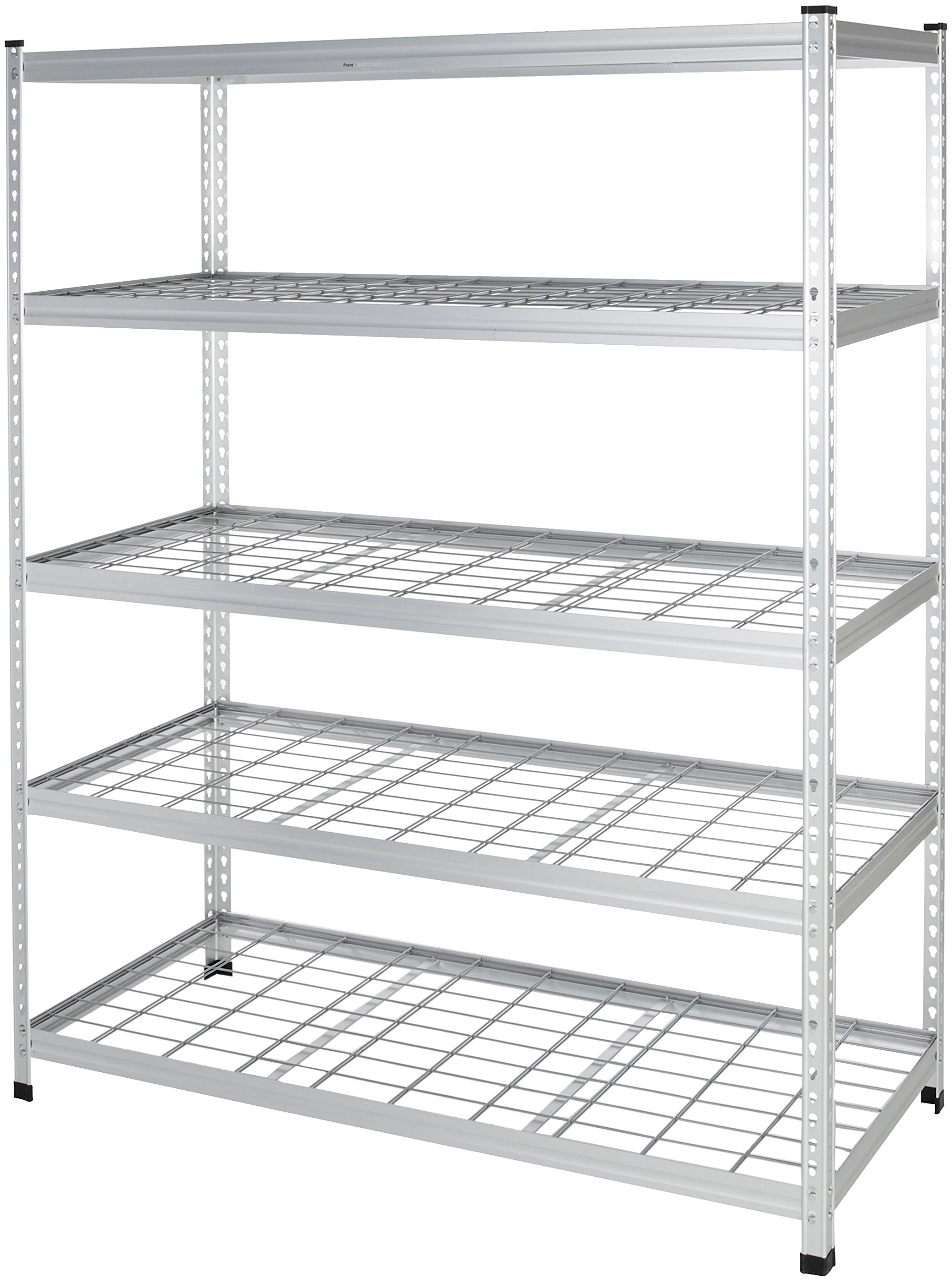 AmazonBasics Heavy Duty Shelving Single-Post Steel Wire Shelf - 60 x 24 x 78