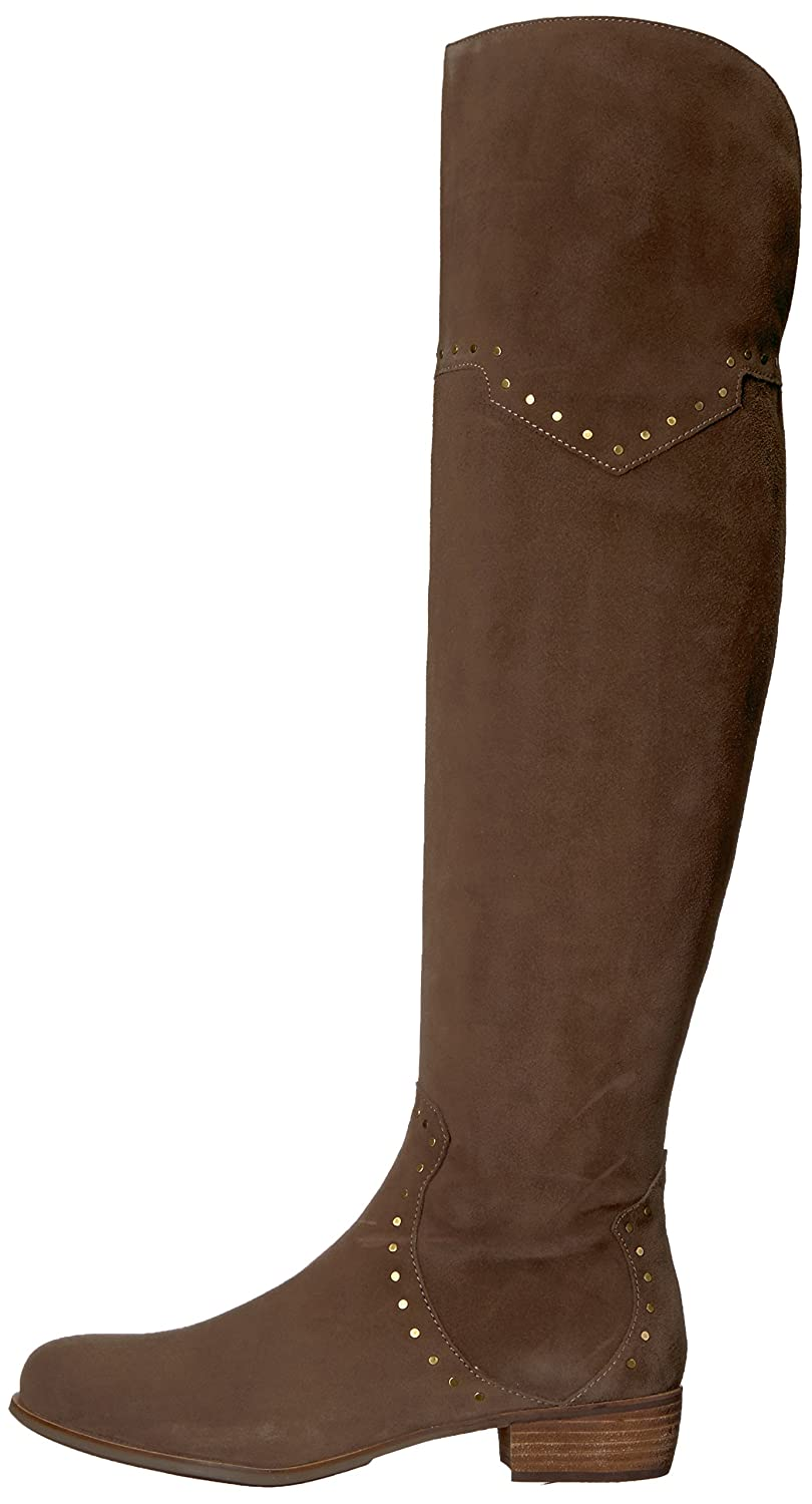 Aerosoles Women's West Side Over The Knee Boot B07542WRWP 8.5 B(M) US|Taupe Suede