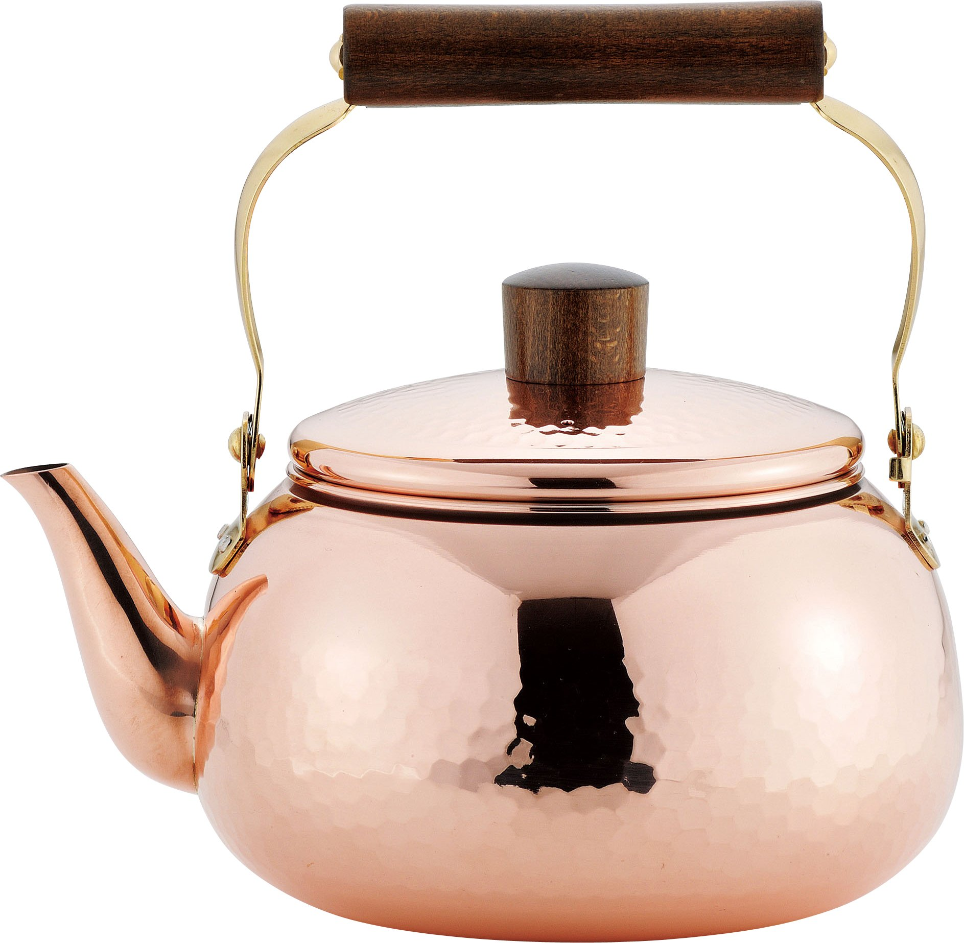 ENZO pure copper kettle 2.4L mirror finish EM-9560