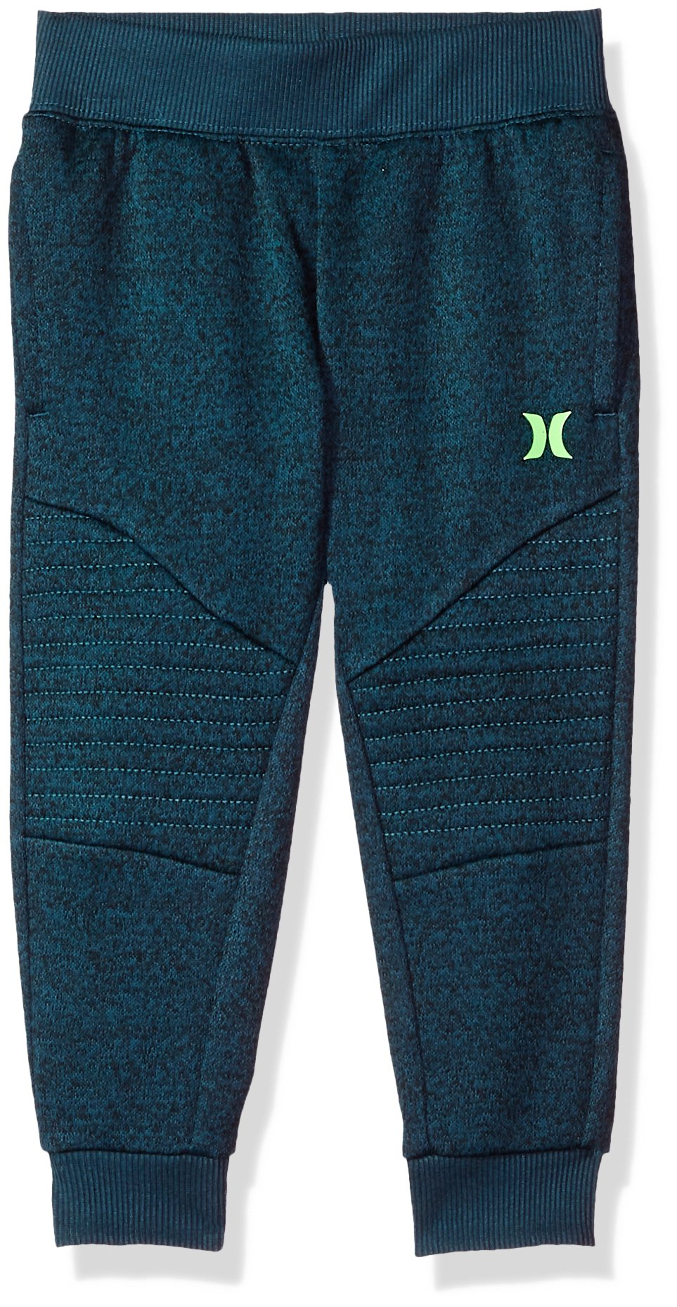 Hurley Little Boys' One and Only Thermal Fit Jogger, Space Blue Heather, 6