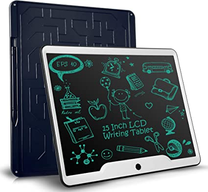 Computer Graphics Tablets Kids Tablets Doodle Board Writing Pad Electronic Drawing Tablet For Kids At Home School For Kids And Adults At Home School And Office Color : Blue , Size : 12 inches