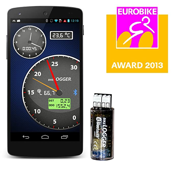 BikeLogger C - Multifunción para bici, sensor de velocidad ...