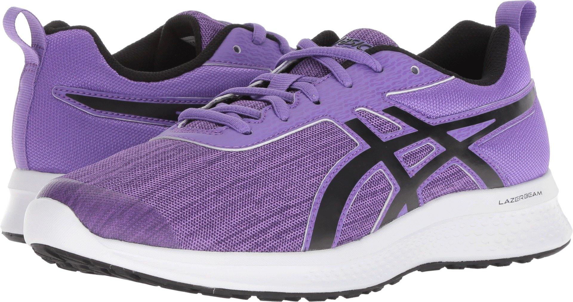 ASICS Kids Girl's Lazerbeam EA (Little Kid/Big Kid) Orchid/Performance Black 1.5 M US Little Kid by ASICS (Image #1)