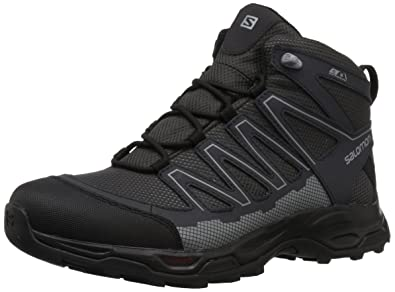 Men/'s Salomon Pathfinder Mid ClimaShield Waterproof Hiking Shoe Magnet