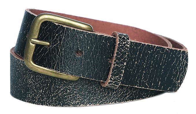 De piel de alta calidad Cinturón Joven Jeans Traje típico de ...