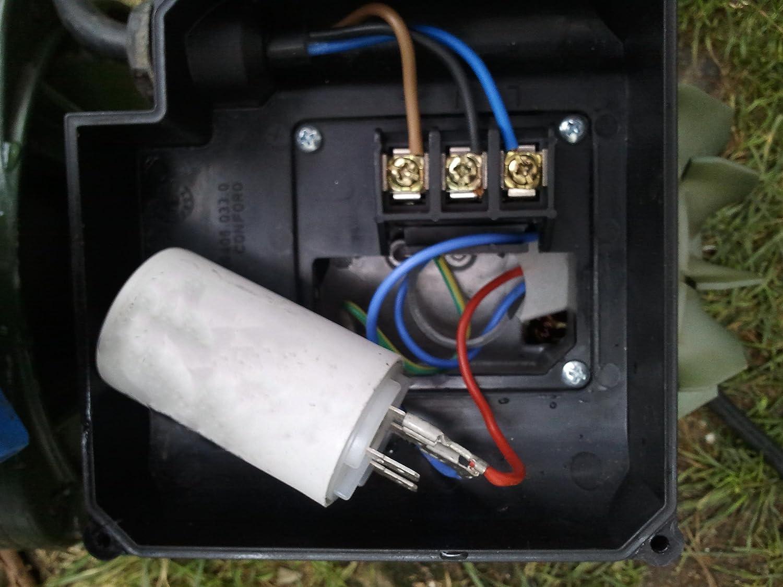 Kit reparaci/ón piscinas; Condensador el/éctrico de interior arranque motor bomba monof/ásica 18 Microfaradios