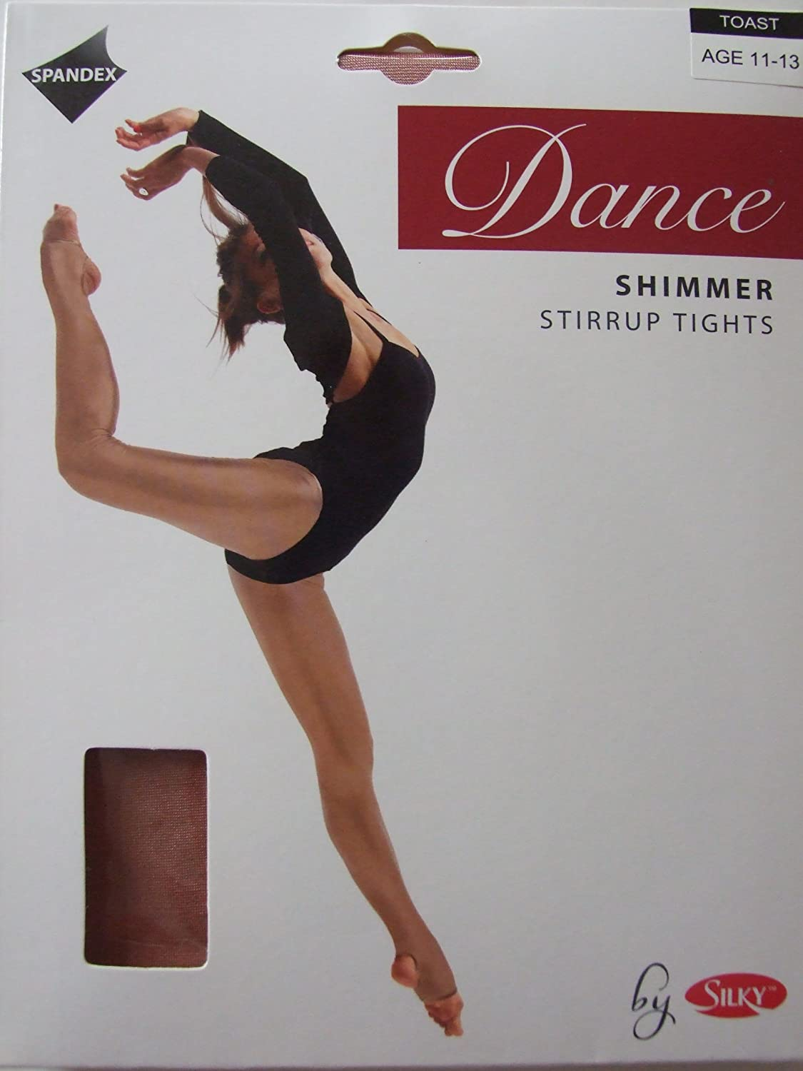 Silky Childs Stirrup Shimmer Tights