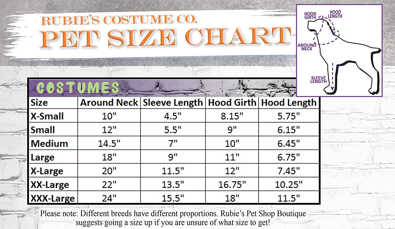 Rubies Costume Co Company 580375/_S Minion Stuart Arms Pet Suit Small