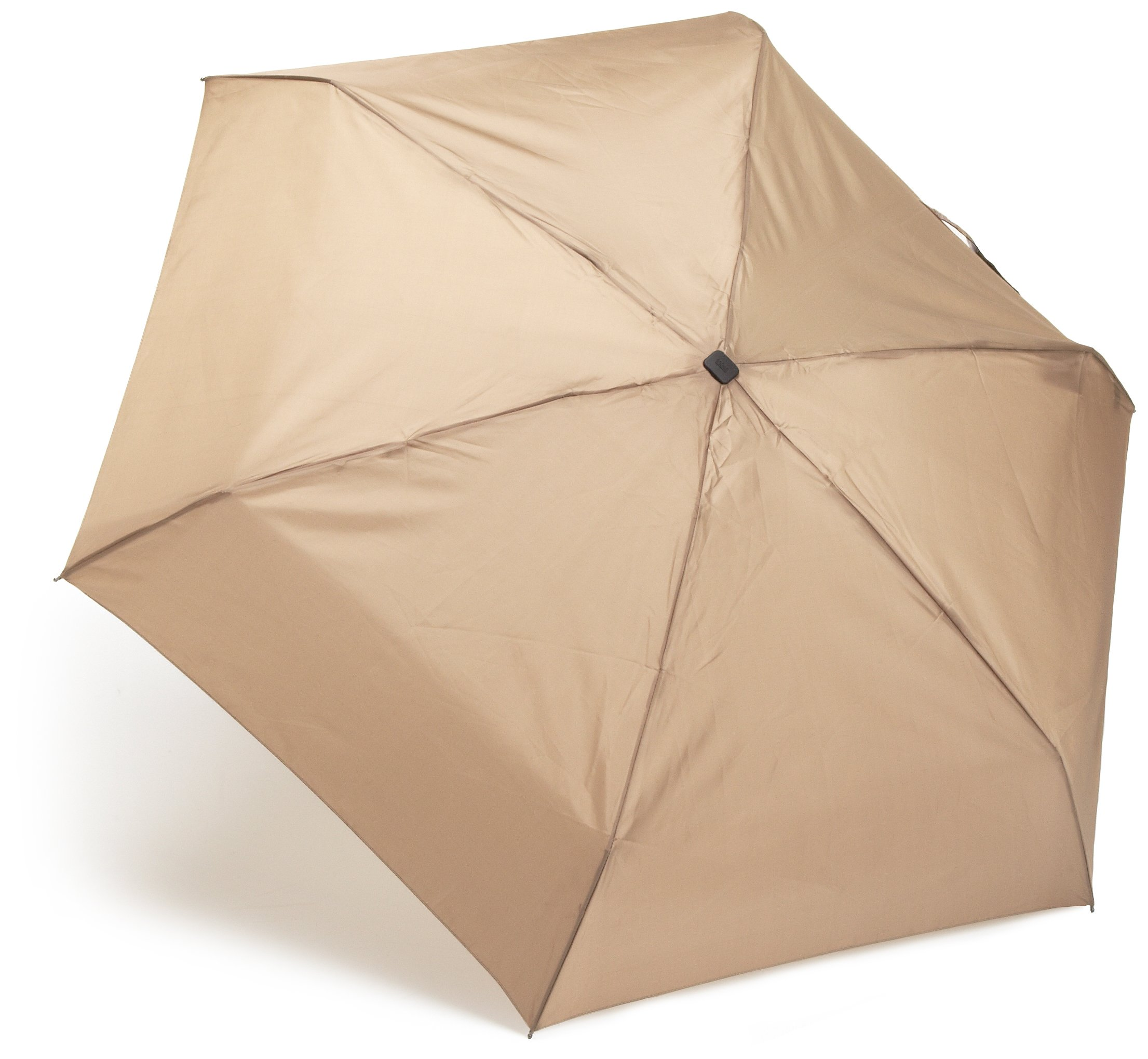 totes Auto Open Close Compact Umbrella,  British Tan,  One Size