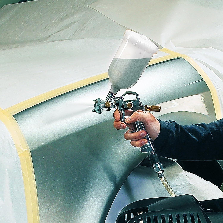 Rojo Einhell Farbspritzpistole Pistola de Pintar Profi con Deposito Superior Presi/ón 3-5 bar