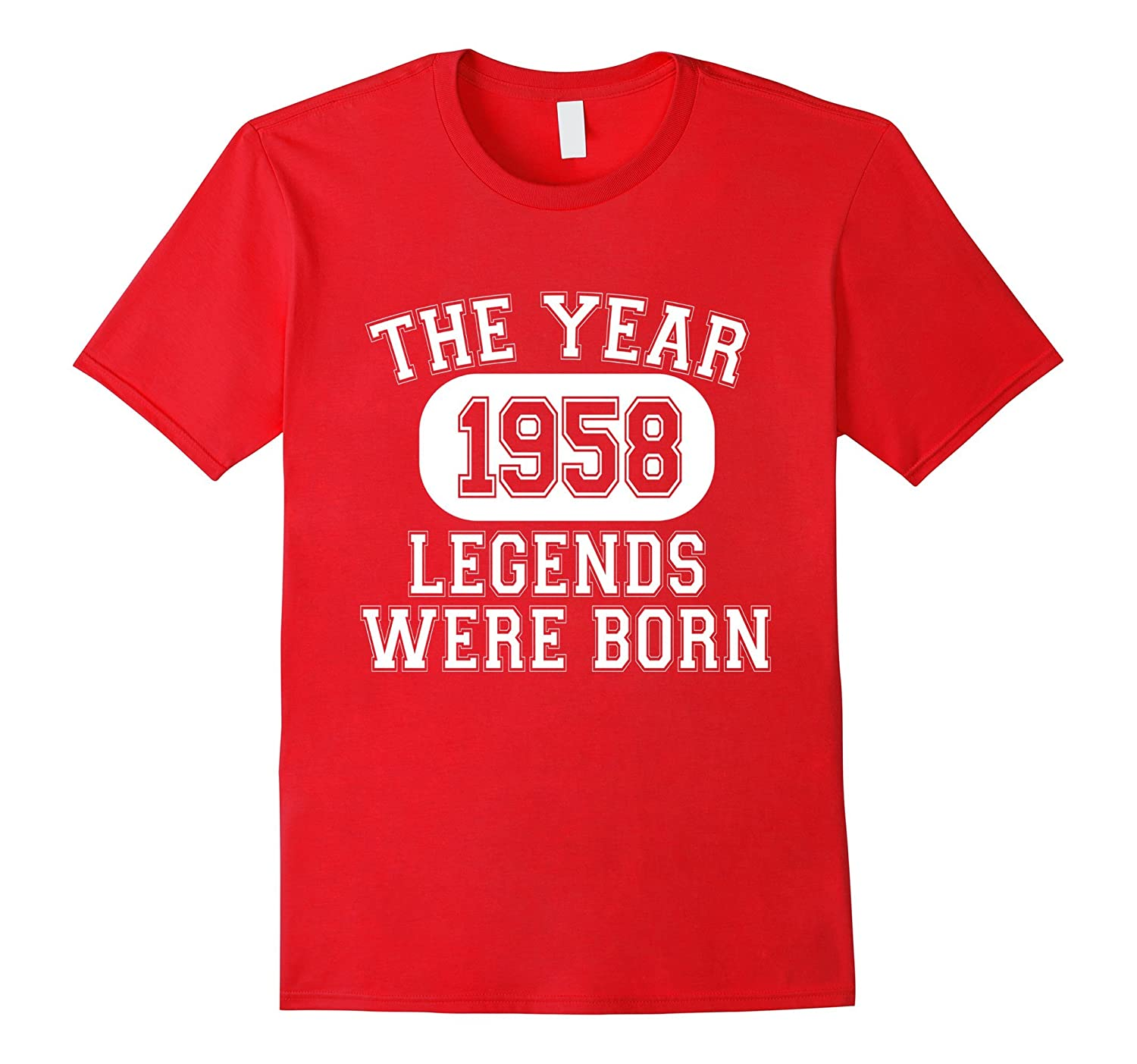 59th Birthday 1958 The Year Legends Were Born T-Shirt-TH