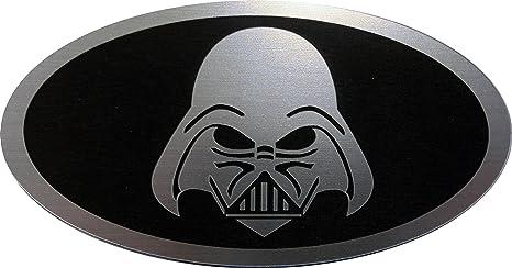 24Designs Compatible Front Emblem Front Emblem Star Wars Darth Vader Black  Replacement for Kia Forte Koup