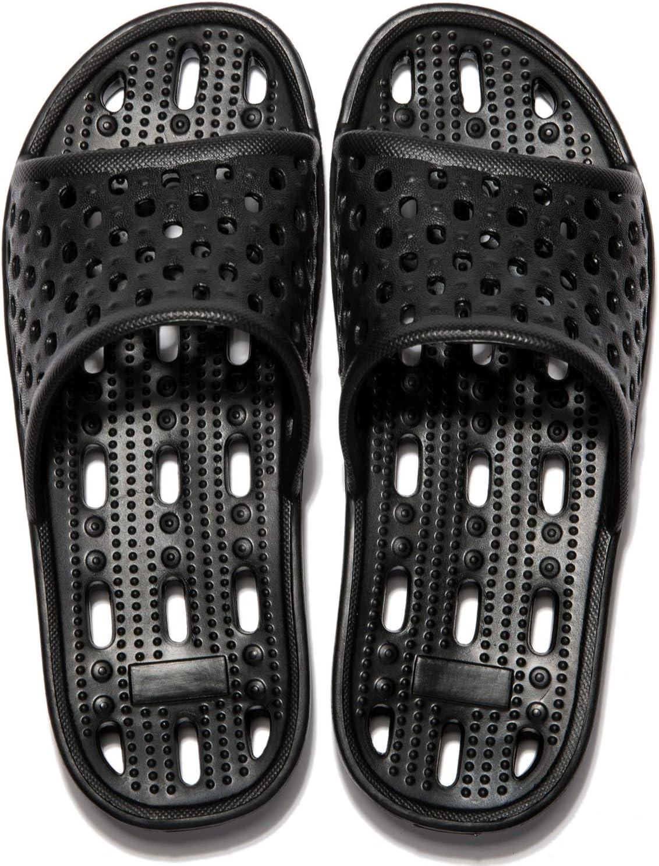 MAYI Claquettes Chaussures de Piscine et de Plage Femme Antid/érapant Pantoufles de Bain Douche