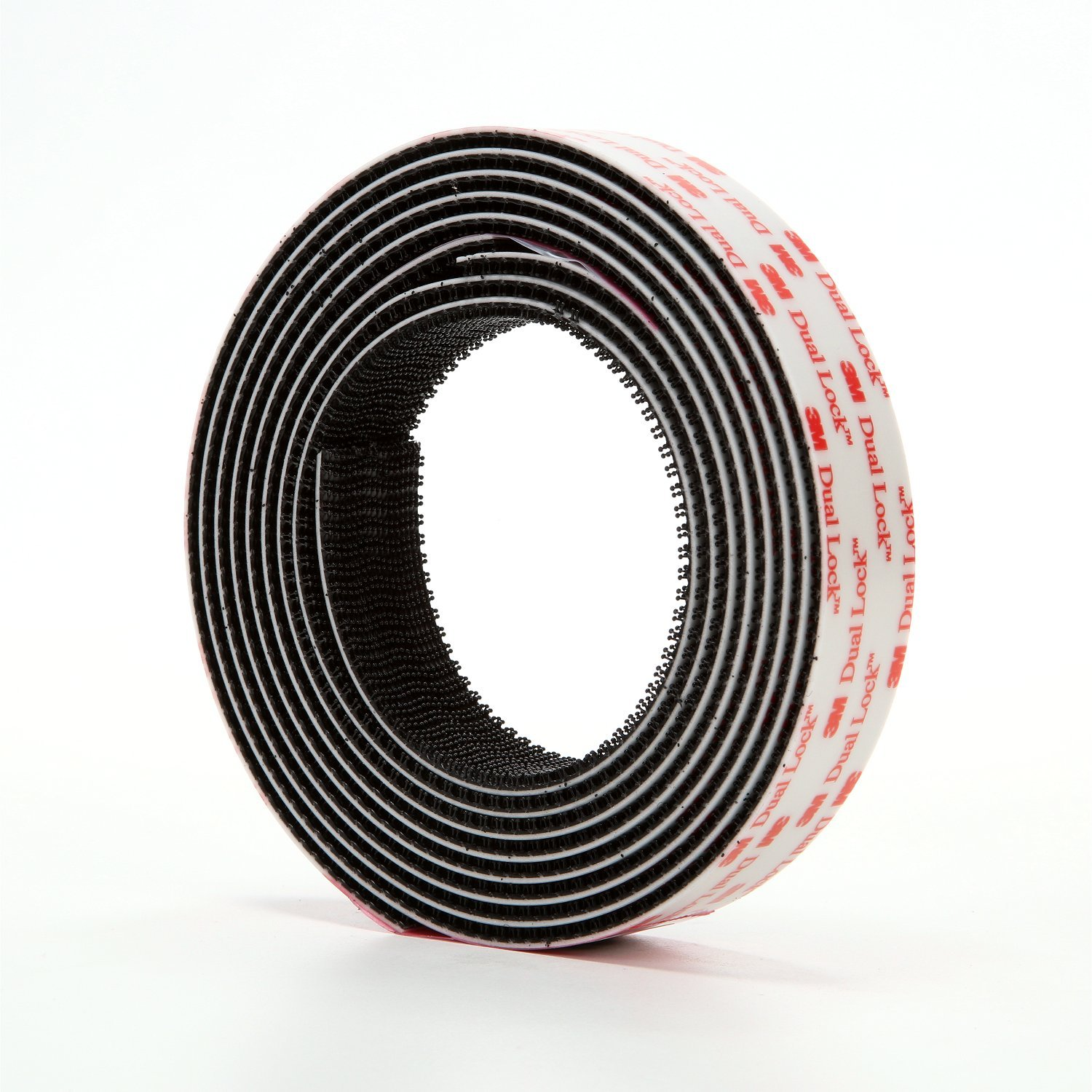 3M Dual Lock Reclosable Fastener TB3550 250/250 Black, 1 in x 10 ft (1 Mated Strip/Bag)