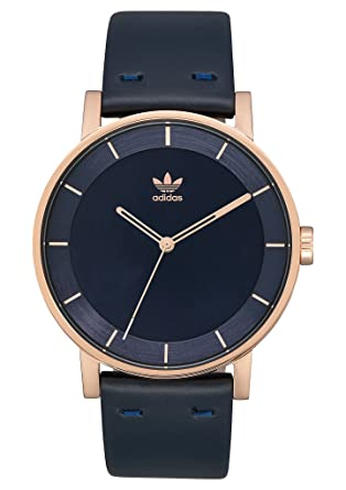 Tremendo usuario Trágico  Adidas Watches District_L1. Genuine Leather Strap Watch, 20mm ...
