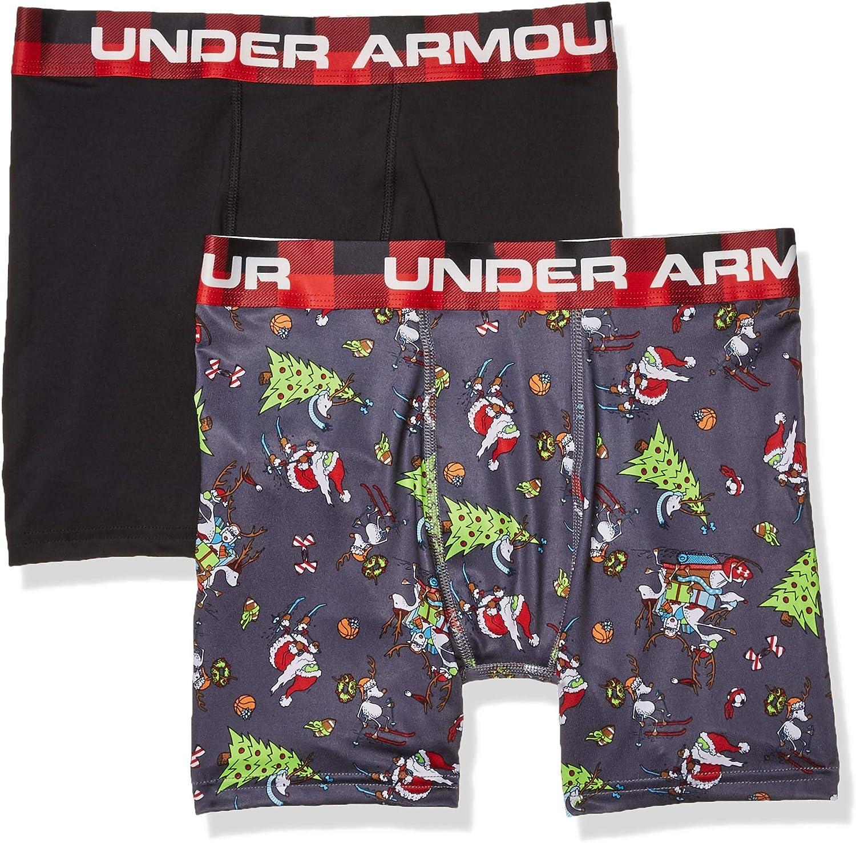 Under Armour Boys Performance Boxer Briefs